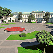 Photo by Leandra taken of the Presidential Palace in Vilnius, LIthuania.
