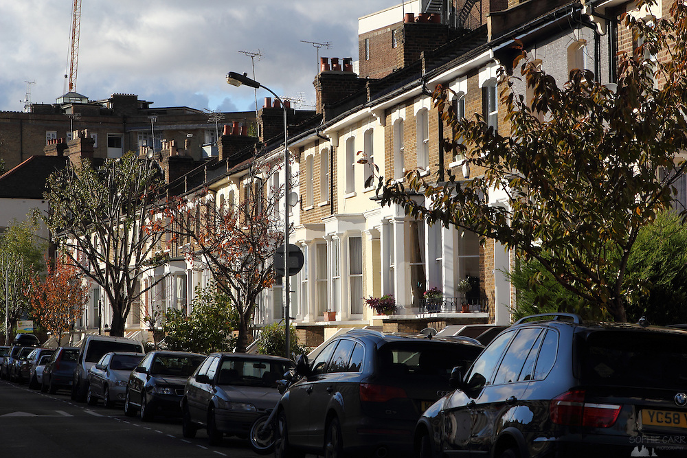 Victorian Terraces, Shepherd's Bush, West London