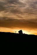 Mountain Biking, Slickrock Trail, Moab, Utah, <br /> MODEL RELEASED