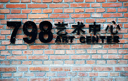 Scenes of 798 Art District in Dashanzi Beijing a former factory area now contemporary art district