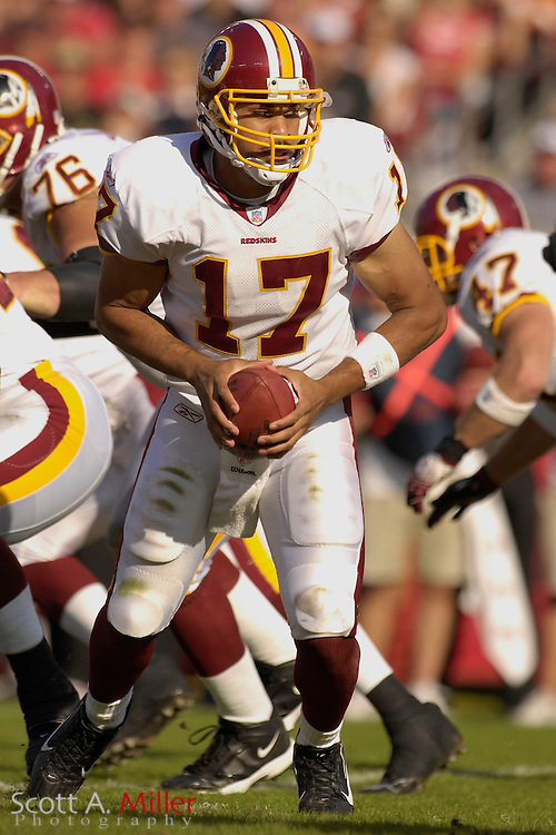 Nov. 19, 2006; Tampa, FL, USA; Washington Redskins quarterback (17) Jason Campbell in action during the Redskins game against the Tampa Bay Buccaneers at Raymond James Stadium. ...©2006 Scott A. Miller