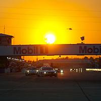 Sunset at Sebring #56 BMW Motorsport BMW M3 GT: Andy Priaulx, Dirk Mueller, Joey Hand