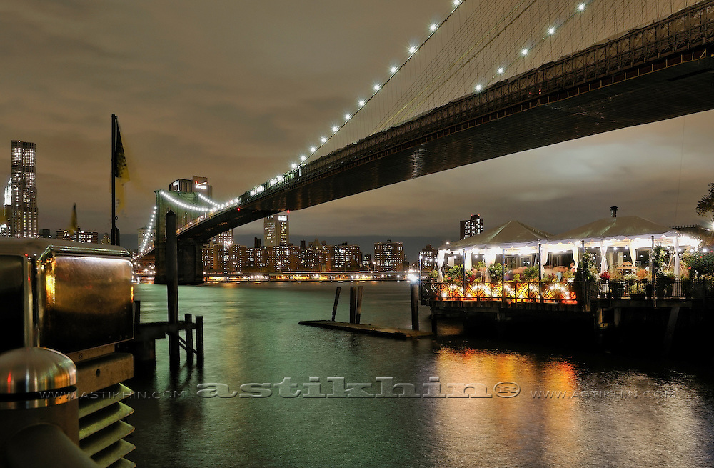 Evening on East River