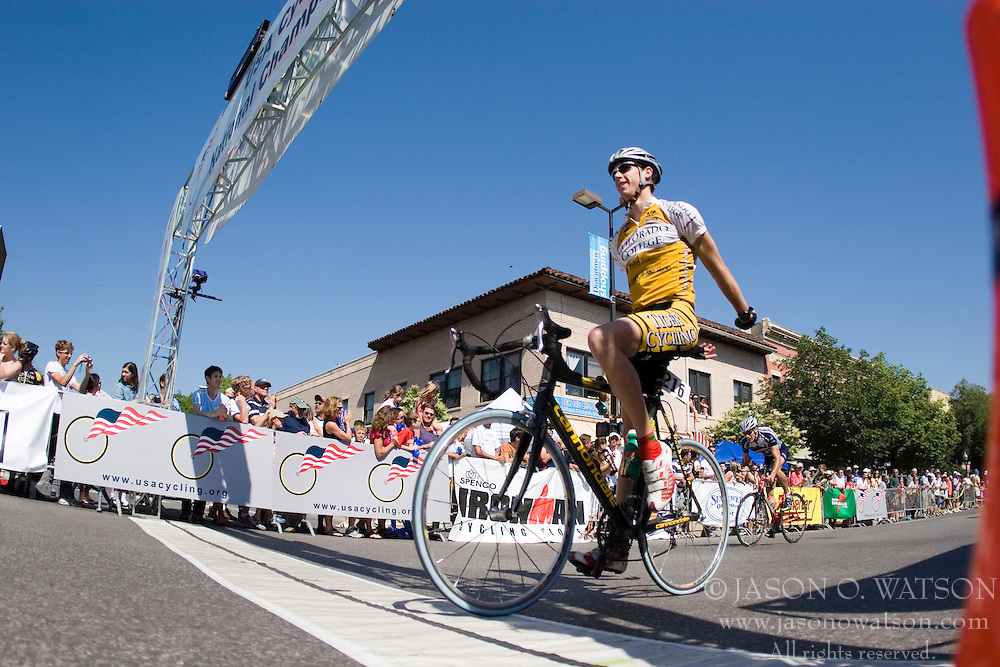 The 2007 USA Cycling Collegiate Road Championship criterium was held in downtown Lawrence, Kansas on May 13, 2007.