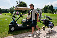 Valter Birsa, Slovenian football player, at Anze's Eleven and SKB Charity Golf Tournament, on June 11, 2011 in Golf court Bled, Slovenia. (Photo by Matic Klansek Velej / Sportida)