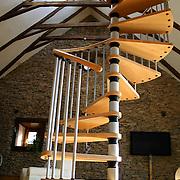 open stair case