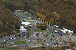 Image &copy;Licensed to i-Images Picture Agency. Aerial views. United Kingdom.<br /> BUCKMORE PARK CART TRACK, KENT. Picture by i-Images