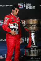 Sam Hornish Jr., IRL trophy shoot