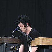 The Raconteurs performs during the second day of the 2008 Bonnaroo Music & Arts Festival on June 13, 2008 in Manchester, Tennessee. The four-day music festival features a variety of musical acts, arts and comedians..Photo by Bryan Rinnert