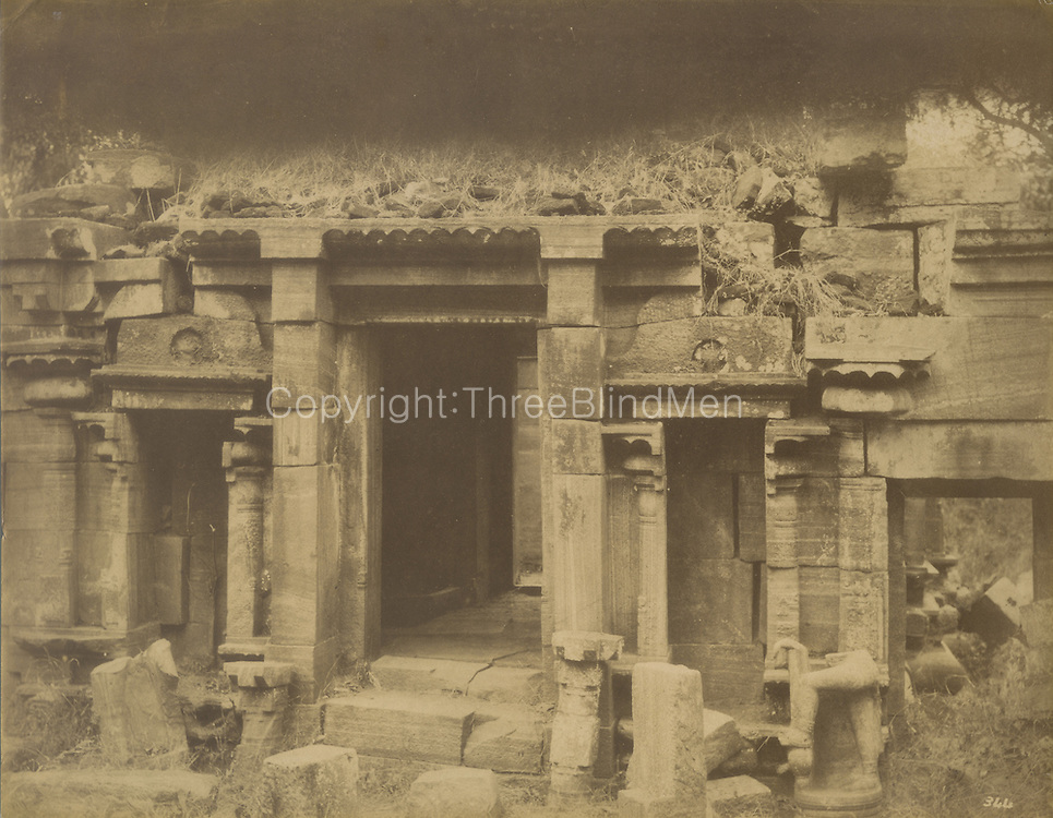 A Siva Devale at Polonnaruwa.<br />