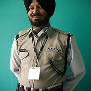 Jagjit Singh (53) is a security guard at one of the stores at Ludhiana's West End mall.