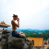 Yoga in Beijing