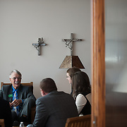 Washington State Supreme Court visits Gonzaga University. (Photo by Gonzaga University)