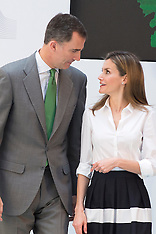 JUN 05 2014 Prince Felipe & Princess Letizia at European Environment awards