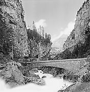 Alpine River Gorge, Klus bridge
