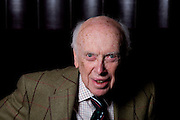 James Watson, PHD, DNA pioneer, photographed in London