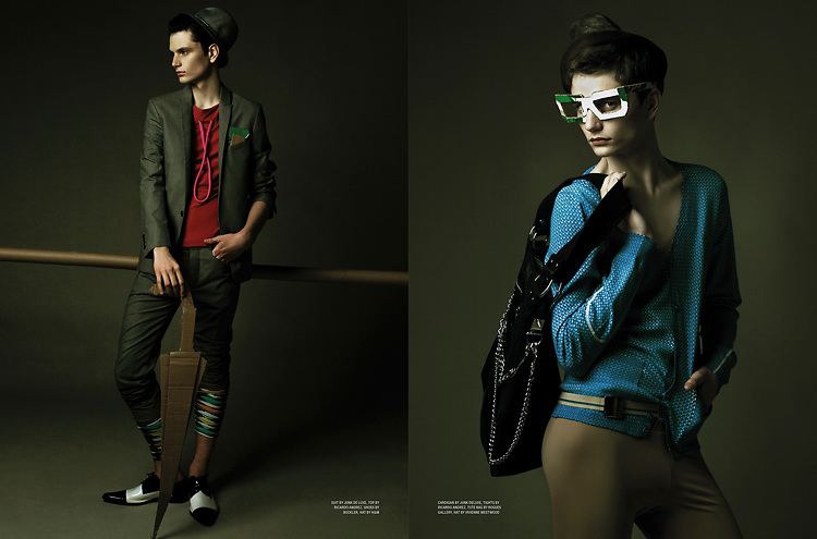Fashion Packed for Karen Magazine by Gabe Toth