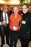 New York, NY- January 16:  l to r: U.S. Congressman Charles Rangel, NYC Mayor Michael Bloomberg and David Goodman, president, The Andrew Goodman Foundation at the New York City Service Program in Honor of Martin Luther King Jr. Day held at the Mirabel Sisters Campus in West Harlem, New York City. Photo Credit: Terrence Jennings