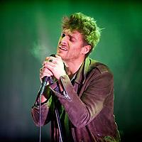 Paulo Nutini performs at the bandstand in Edinburgh's Princess Street Gardens as part of Edinburgh's Hogmanay celebrations on Dec 31st, 2016 in Edinburgh, Scotland. (Photo by Ross Gilmore)