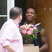 Ray_Rice_Receives_Flowers