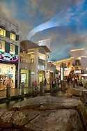 Rain Storm at The Aladdin Desert Passage, Las Vegas, Nevada