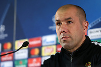 Leonardo Jardim, head coach of As Monaco, looks on before   the Juventus FC press conference on the eve of the UEFA Champions League football match between As Monaco Fc and Juventus FC.