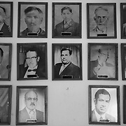 Some of the many mayors of the town of Praxedis in the Juarez Valley located east of Ciudad Juarez, Mexico. This town has been under one political party rule for decades and has been under the control of drug cartels who have killed many mayors in the region and throughout the country in order to maintain control of this lucrative smuggling region..(Credit Image: © Louie Palu/ZUMA Press)