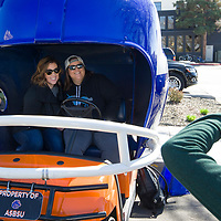 Boise State Helmet Car at Treefort Music Festival, Allison Corona photo.