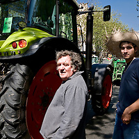 France: Tractors invade Paris as farmers protest.