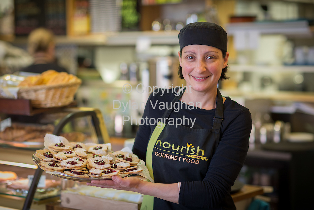 22-3-16<br /> <br /> Paola Ambu pictured at Nurish in Kilkenny.<br /> Picture Dylan Vaughan.