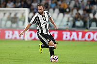 Torino, 21.09.2016 - Serie A 5a giornata - Juventus-Cagliari - Nella foto: Gonzalo Higuain - Juventus