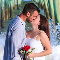 Beach Wedding at Garden City Beach Pier Love in Garden City Beach