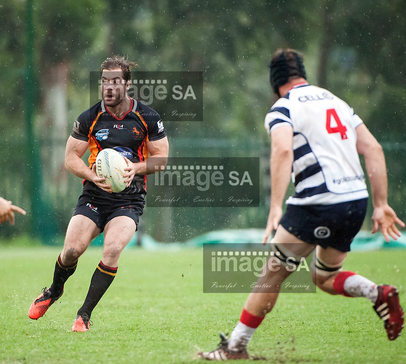 JOHANNESBURG, SOUTH AFRICA - Saturday 21 March 2015, Wanderers #15 Richard Aingworth during the fifth round match of the Cell C Community Cup between Vaseline Wanderers and Aveng Moolmans Sishen at Kent Park, Wanderers Cricket Club, Johannesburg<br /> Photo by Brendan Croft/ ImageSA/SARU