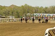 Quarter Horse Racing, Miles City, Montana