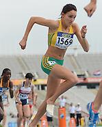 IAAF WJC Day 1 Tuesday 10 July