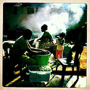 Street feast, The Mozambique Diary, Maua District, Mozambique