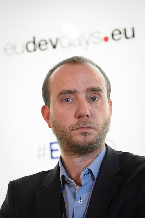 03 June 2015 - Belgium - Brussels - European Development Days - EDD - Health - Bekou - Restoring basic health services in the Central African Republic after the crisis - Stijn De Lameillieure<br /> EuropeAid Partnership Manager, Save the Children &copy; European Union
