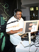 Biz Markie at the Common Celebration Capsule Line Launch with Softwear by Microsoft at Skylight Studios on December 3, 2008 in New York City..Microsoft celebrates the launch of a limited-edition capsule collection of SOFTWEAR by Microsoft graphic tees designed by Common. The t-shirt  designs. inspired by the 1980's when both Microsoft and and Hip Hop really came of age, include iconography that depicts shared principles of the technology company and the Hip Hop Star.