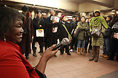 Alice Tan Ridely, mother of Gauboury Sidibe, sings R&B, Soul and Gospel in Herald Sq. 34th Street