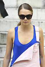 SEP 29 2014 Cara Delevingne Attends the Stella McCartney show