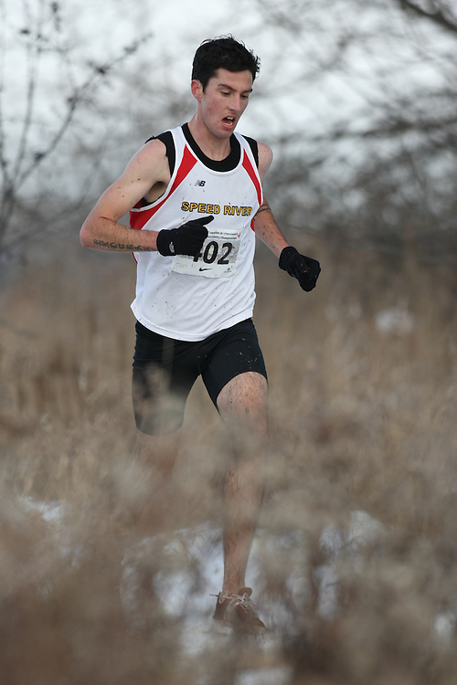 Guelph, Ontario ---29/11/08---  ROBERT JACKSON competes in the senior men's race at the 2008 AGSI Canadian Cross Country Championships in Guelph, Ontario, November 29, 2008..Sean Burges Mundo Sport Images
