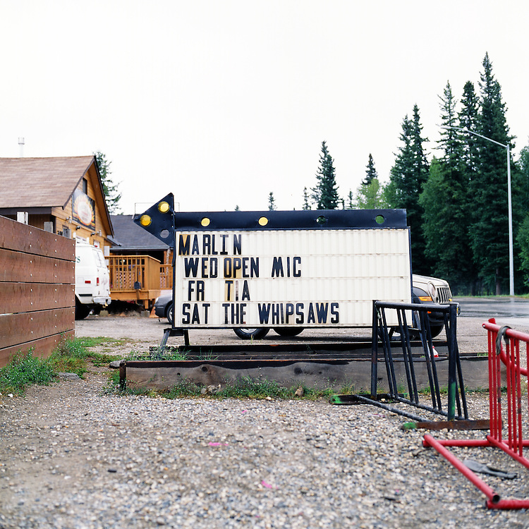 FAIRBANKS, ALASKA - 2009: The Whipsaws.