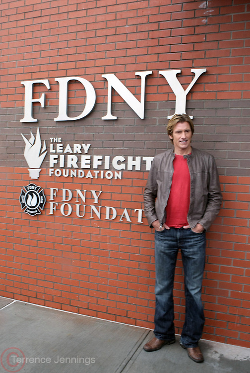 Denis Leary at The Leary FireFighters Foundation dedicates High-Rise Simulator in New York City at The FDNY Training Academy on Randall's Island on March 19, 2009..The Leary Firefighters Foundation, in partnership with The FDNY Foundation dedicates a state-of-art High Rise Training Simulation Facility. The first and only of its in the kind in the country, the simulator will help firefighters improve their skills in combating the difficulties of fighting fires in high-rise buildings, performing rescues, and saving lives under extreme conditions.