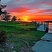 High Dynamic Range landscape photography taken in the Outer Banks (OBX) on Hatteras Island of North Carolina (NC). The photography includes sunsets, beach and water photography.