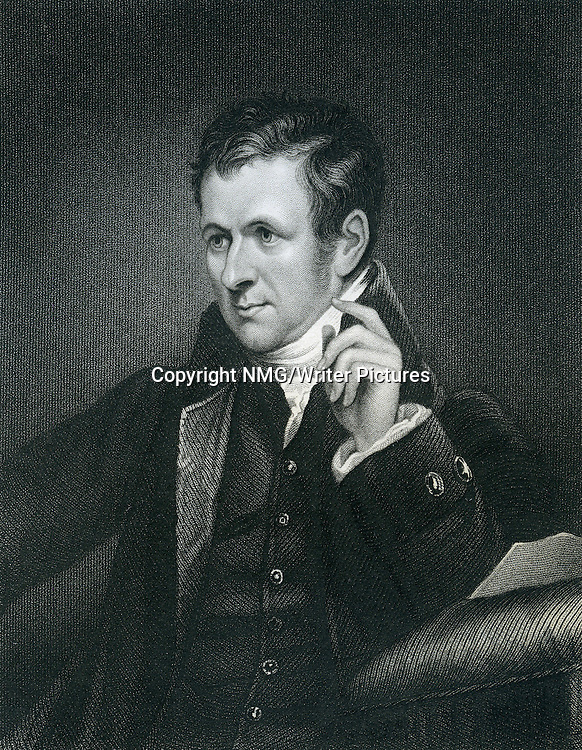 Sir Humphry Davy, English chemist, and inventor<br /> <br /> Copyright NMG/Writer Pictures<br /> WORLD RIGHTS