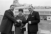 1964 - Mr and Mrs Cafferky leave for Milan.
