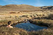 Natural hot spring at Hart Mountain National Antelope Refuge, southeast Oregon.