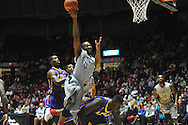 "Mississippi's LaDarius White (10) vs. LSu at the C.M. ""Tad"" Smith Coliseum in Oxford, Miss. on Wednesday, January 15, 2013. Mississippi won 88-74 in overtime."