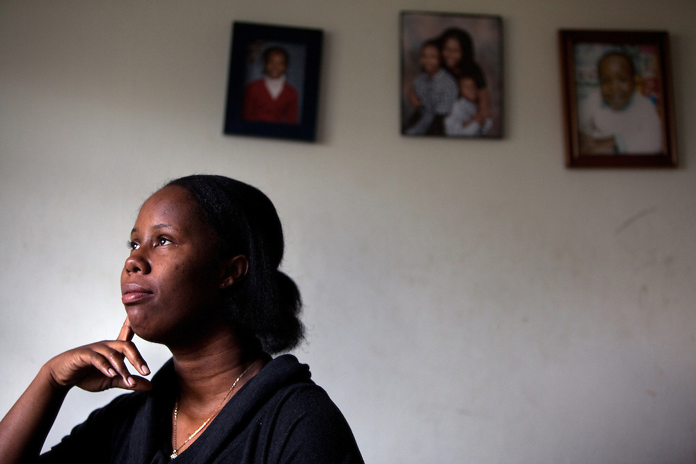 Cherie Michaux in her apartment in Port Chester, NY on October 27, 2012. Cherie Michaux could have benefitted if Westchester County had integrated its housing as it had been ordered to do so.