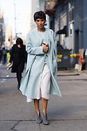 Deena Abdulaziz at Calvin Klein FW2015